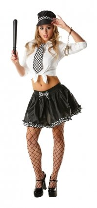 Adult Policewoman Tutu Set 30722