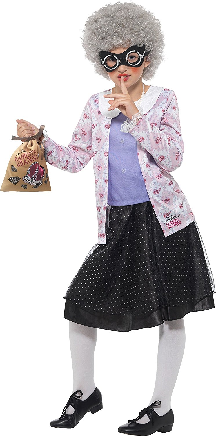 David Walliams Deluxe Gangsta Granny Costume 415