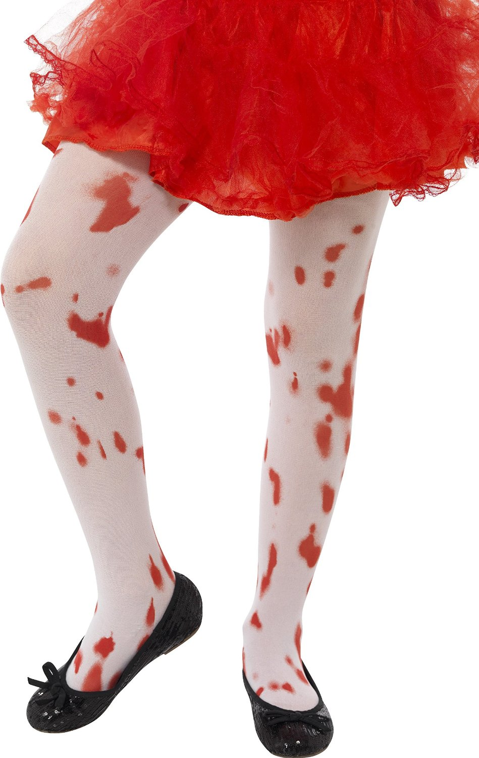 Child blood stained tights age 6-12 years 45623