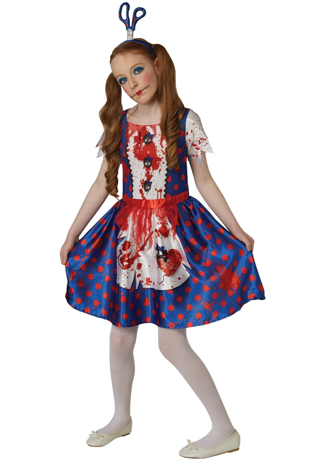 Rag doll costume child 630704