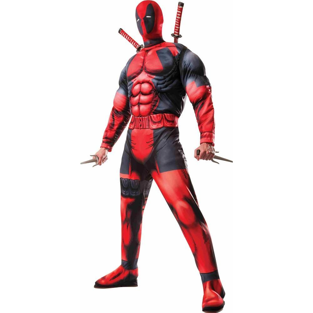 Deadpool Deluxe adult costume standard 810109