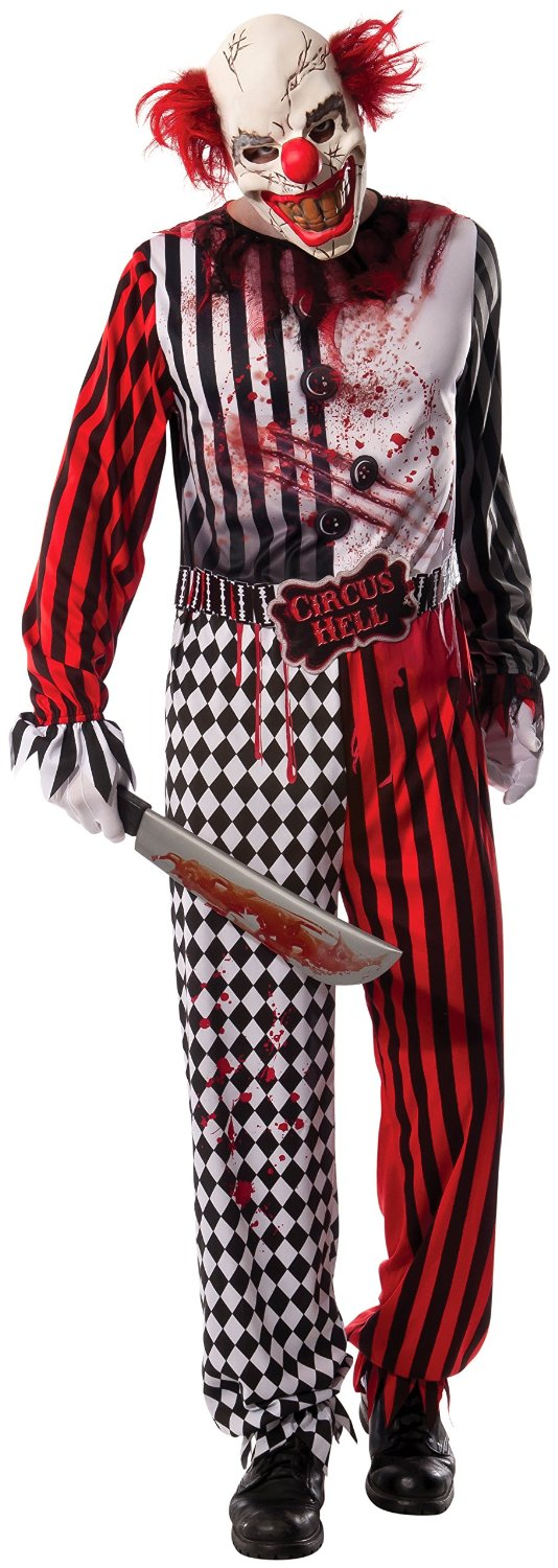 Adult Evil Clown Costume 810510