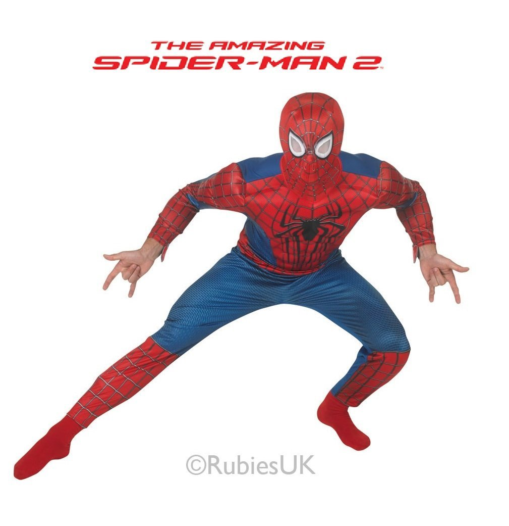 Amazing Spider-Man 2 Deluxe Fancy Dress Adults8875