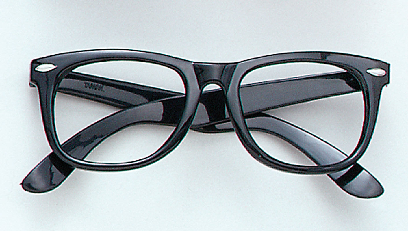 Glasses Frame Company : Fancy Dress Factory.... BA182 - Black frame glasses BA182