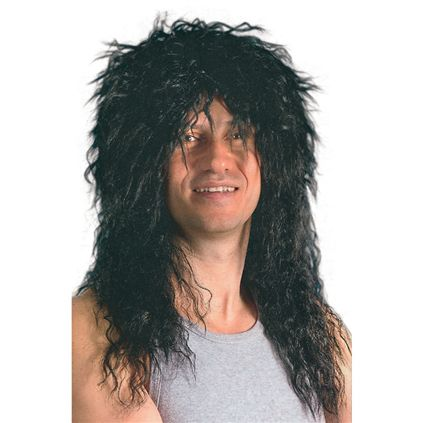 Black rocker wig BW563