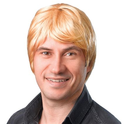 Male wig blonde BW069
