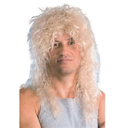 Blonde rock star wig BW562