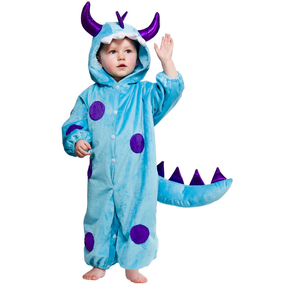 Blue toddler monster costume ka4472 (12-18 months)