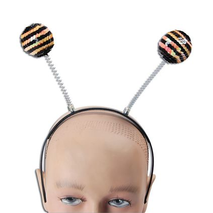 Sequin bee head boppers BA048