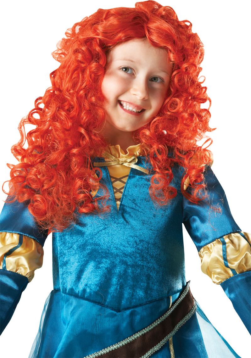 Disney's kids Merida Brave wig 52602