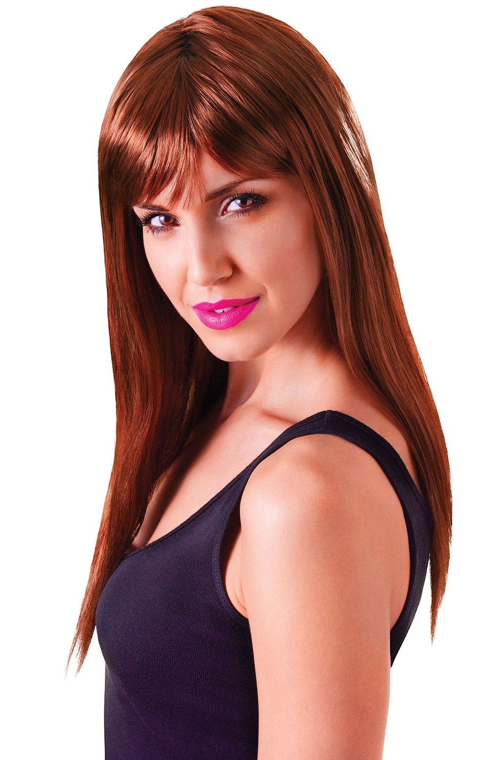 Long brown passion wig bw875
