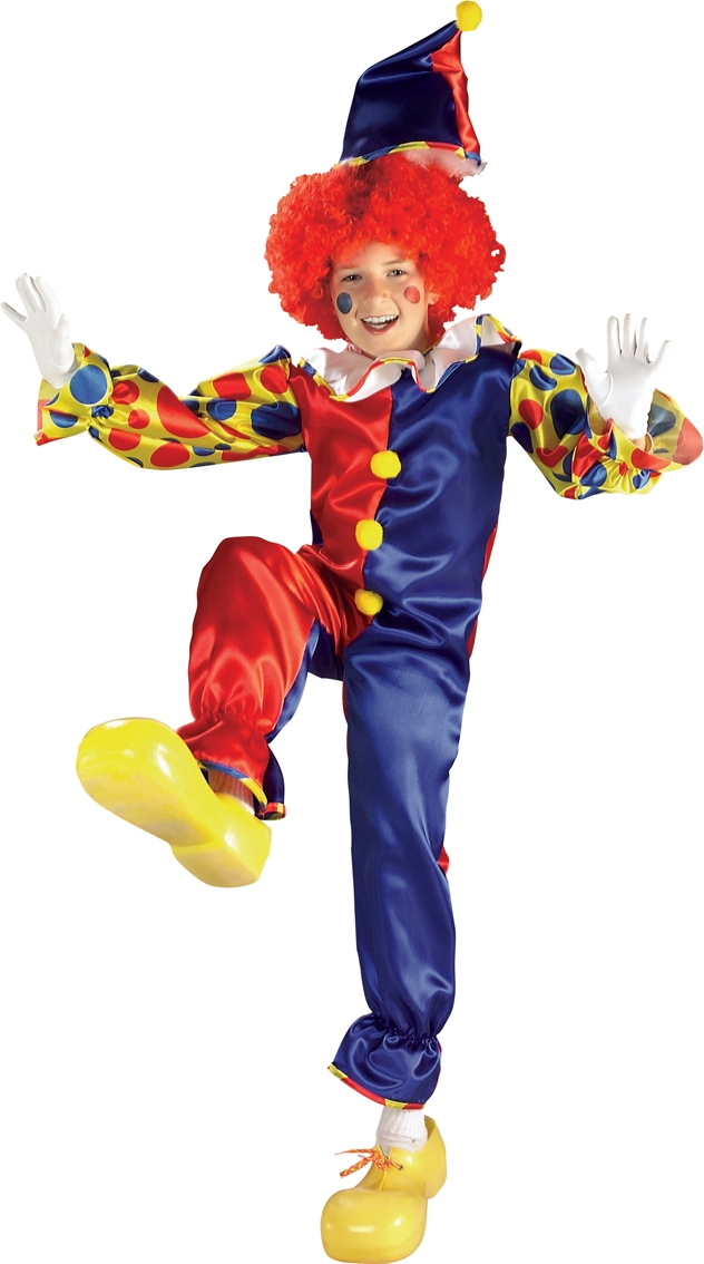 Bubbles the clown costume kids 881103