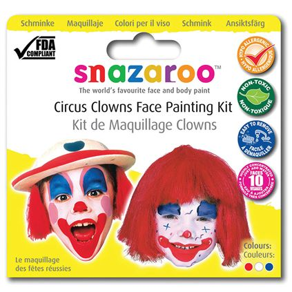 Clown theme pack snazaroo MU091