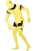 Second Skin Suit, Crash Dummy Costume ef-23709L