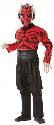 Star Wars -Red Darth Maul Deluxe costume - 881236