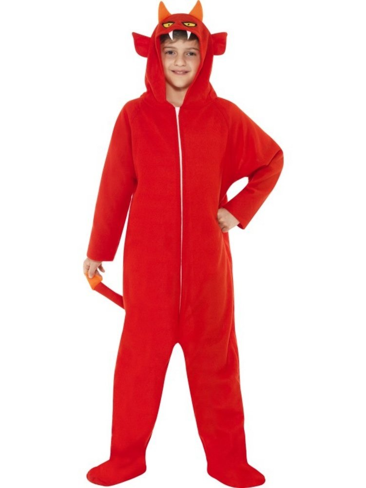 55011 Devil onesie costume.