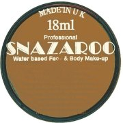 Dark brown snazaroo face paint 18ml