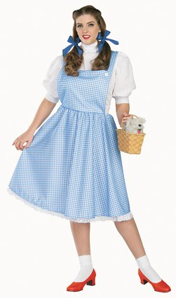 Dorothy costume adult plus size 17349