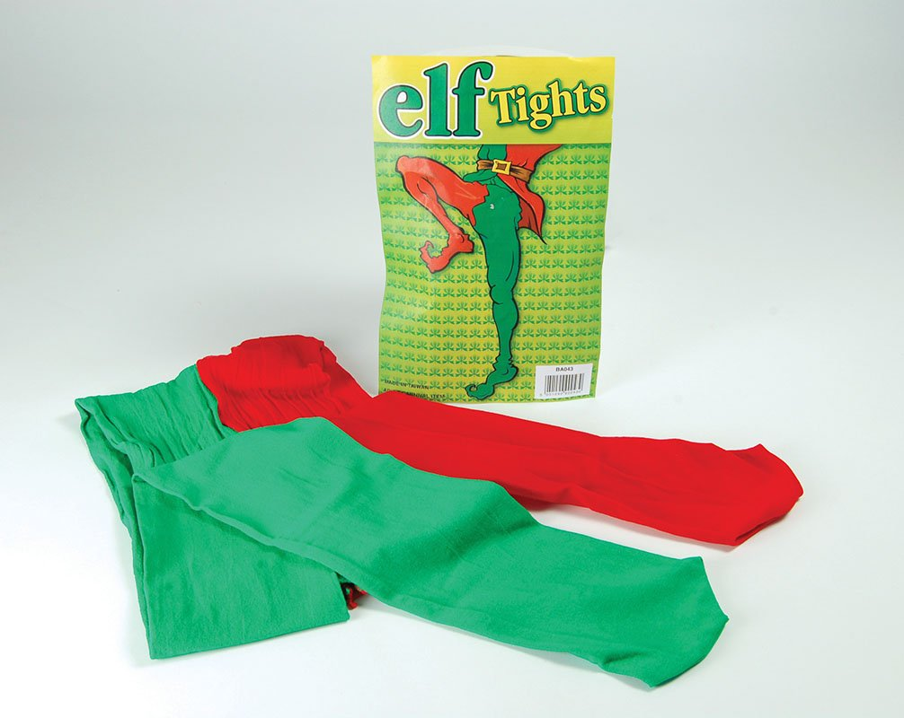Elf tights red/green BA043