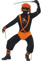 Ginger Ninja Super Hero Costume ef-24058L