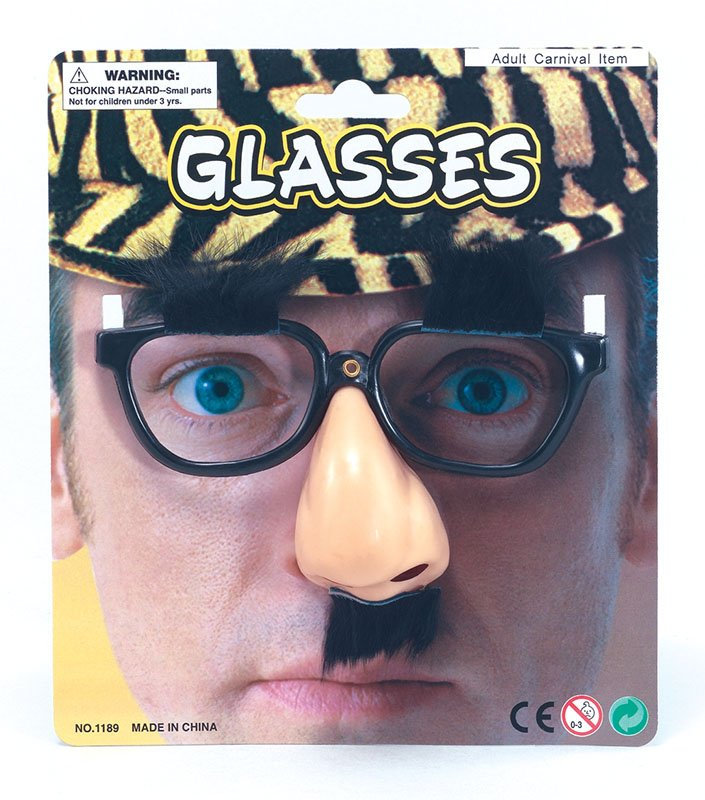 Glasses and nose MD129