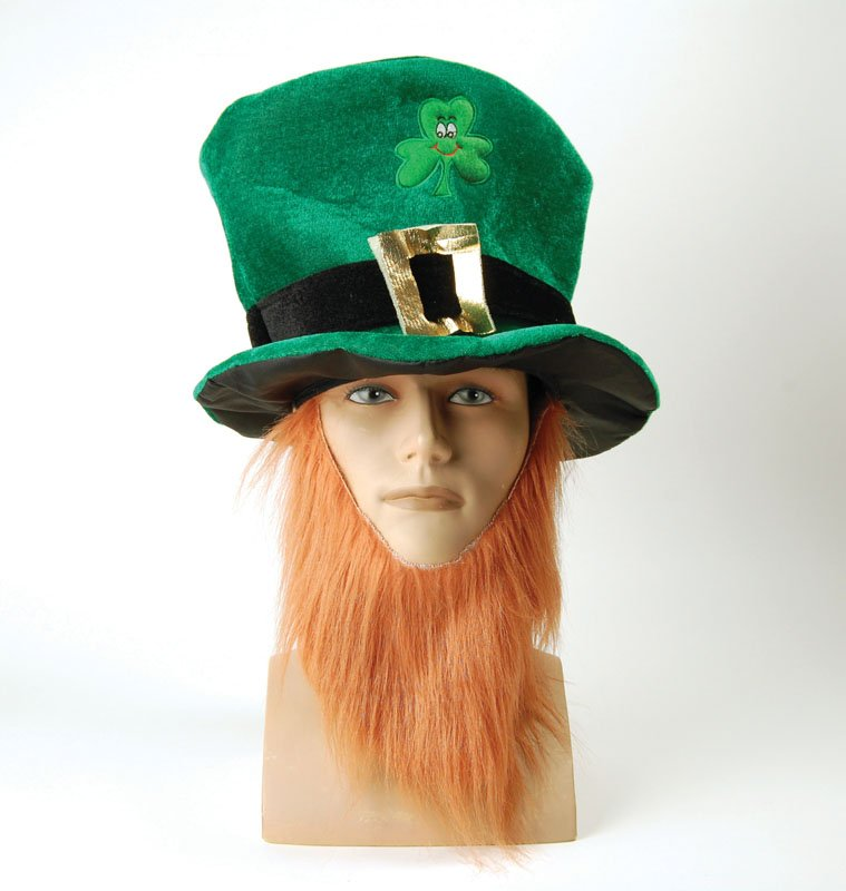 Leprechan hat and beard BH474