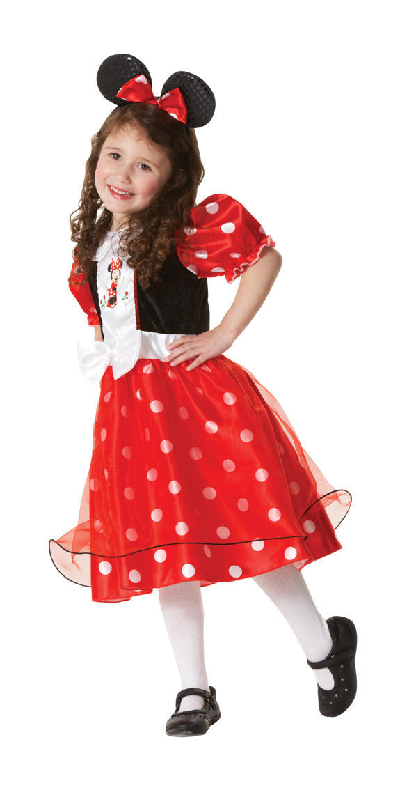 Disney's Red Spotty Minnie Mouse costume 884772
