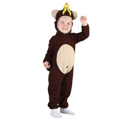 Toddler monkey costume 2-3 years cc013