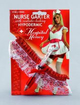 Nurse garter and syringe BA889