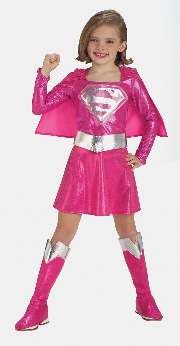 Pink Supergirl costume 882751