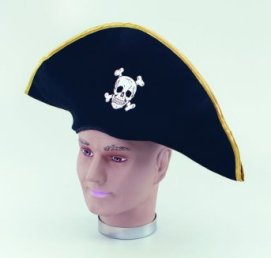 Fabric  pirate hat BH121