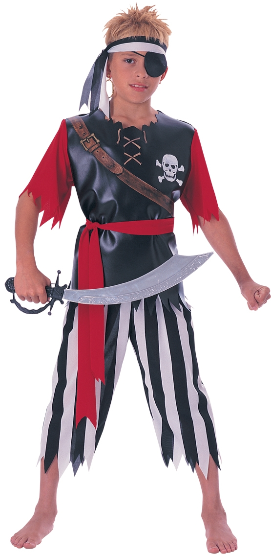 Pirate king costume boys 881040