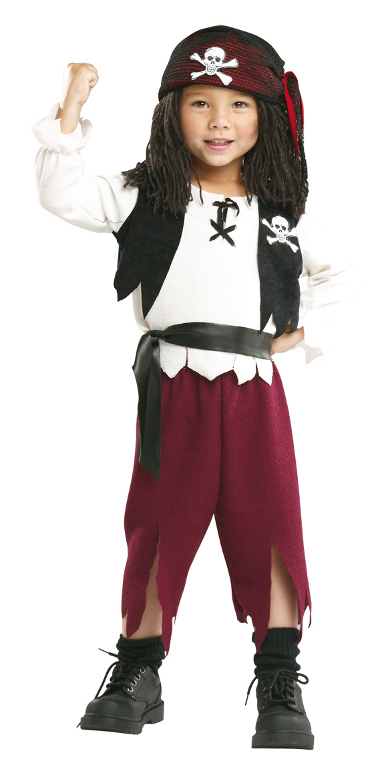Pirate Captain costume toddler 11764