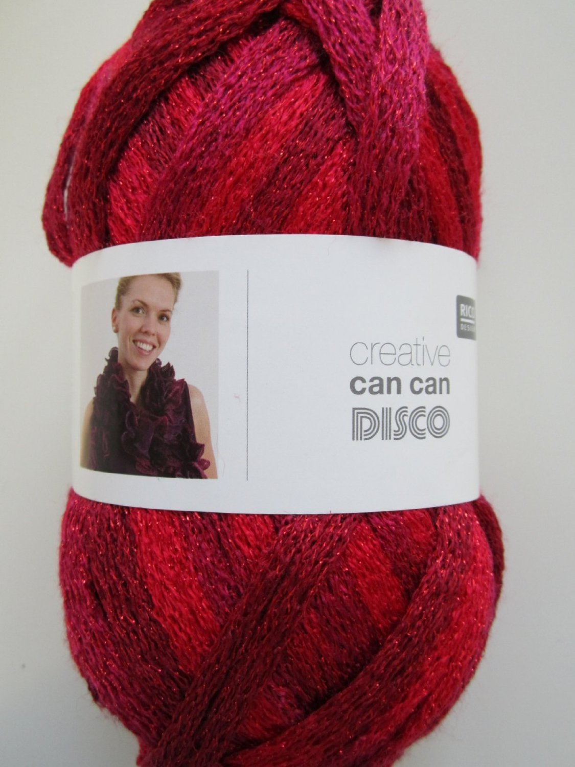 Red disco rico can can wool 006