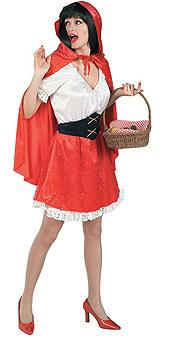 Little Red riding hood costume adult 16462