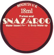 Red snazaroo face paint 18ml