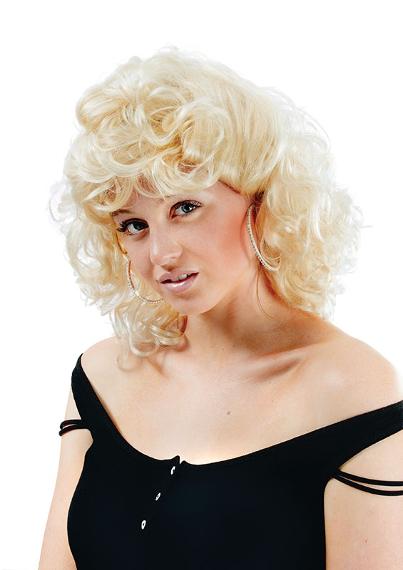 Blonde sandy wig BW697
