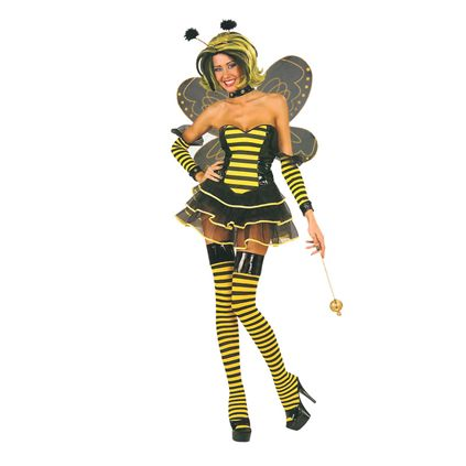tatoo lady bumble bees. Sexy Queen umble bee costume