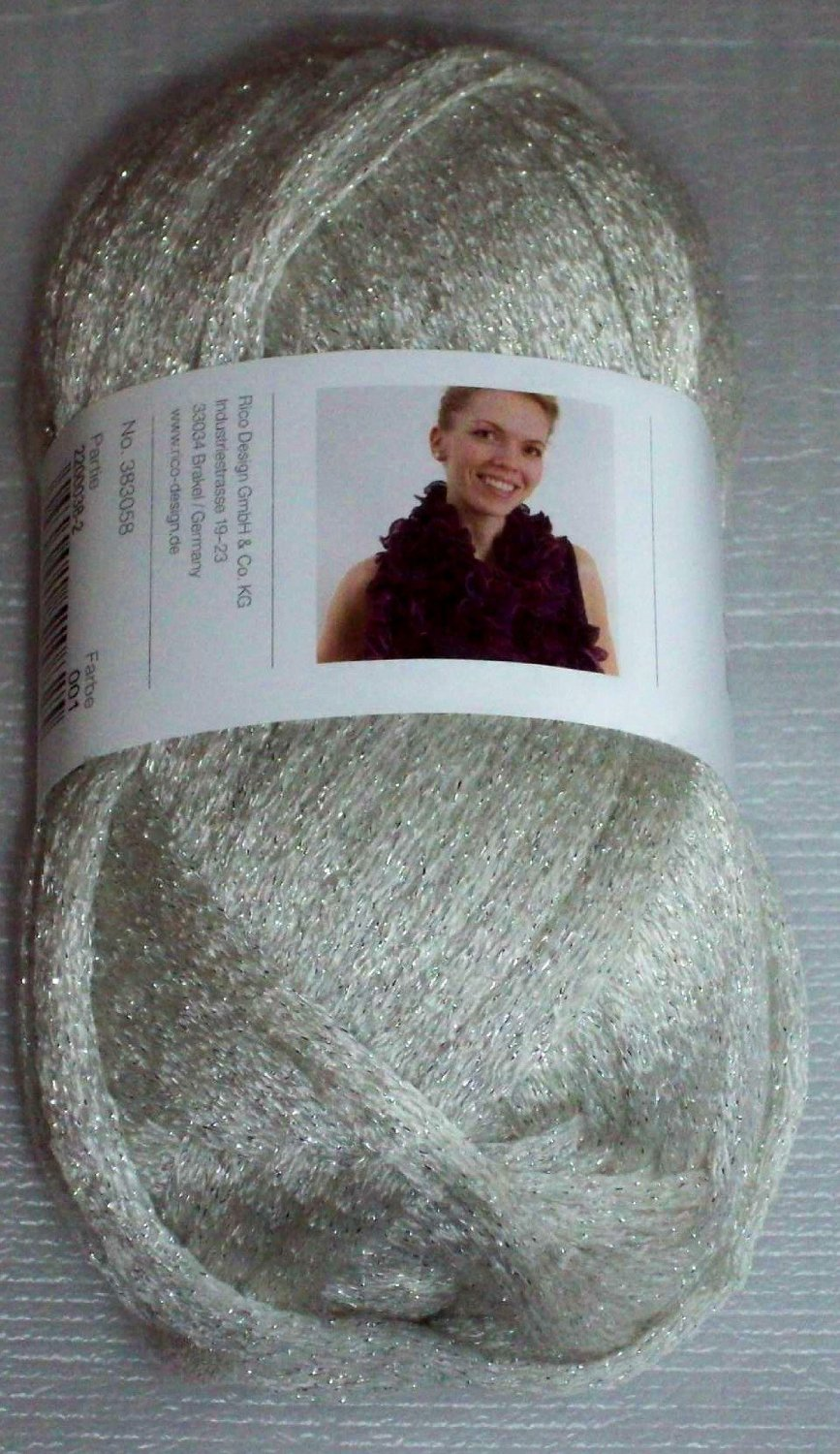 Silver disco cancan wool 001
