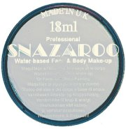silver snazaroo face paint 18ml