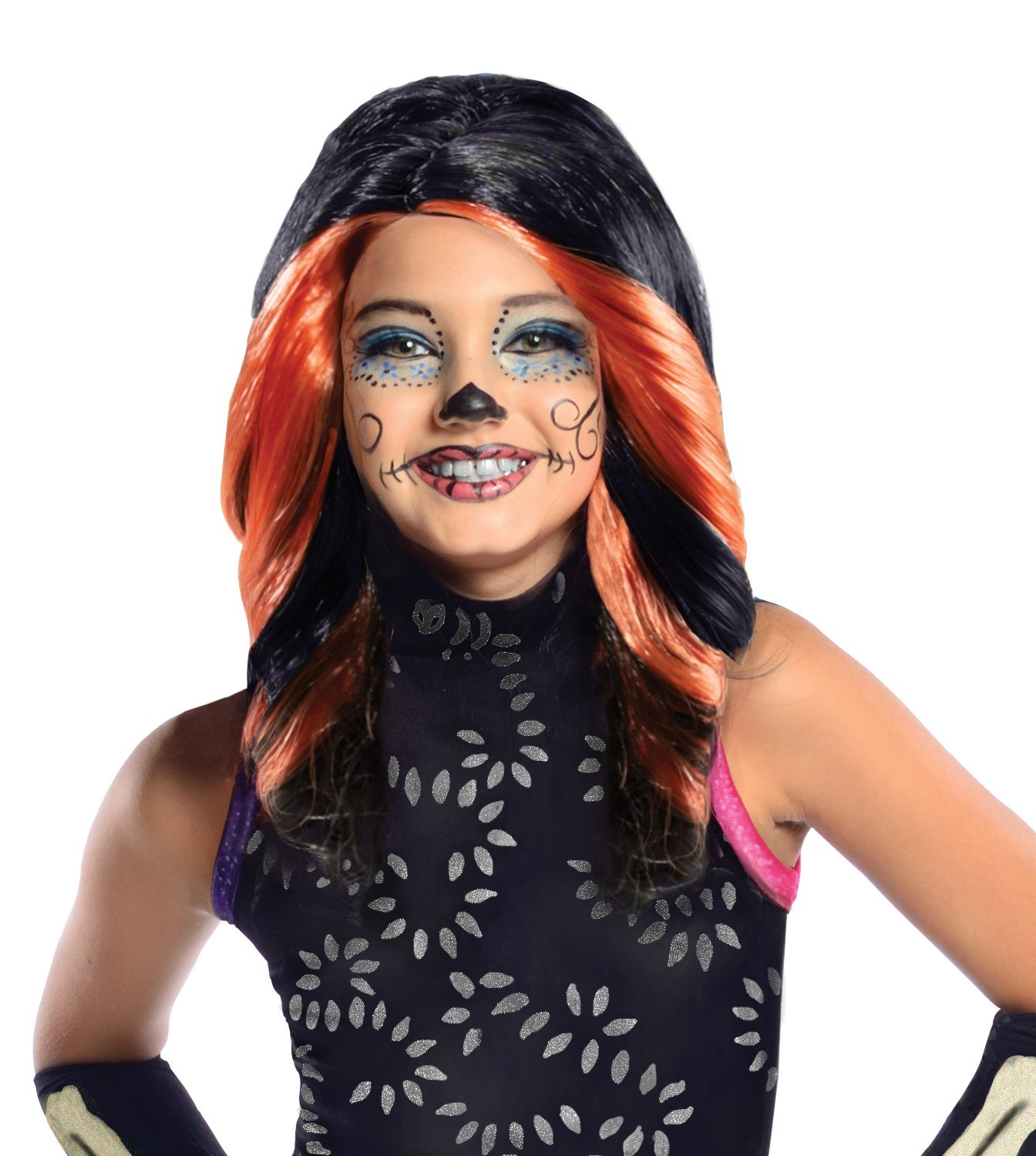Monster high Skelita Calaveras wig 52812