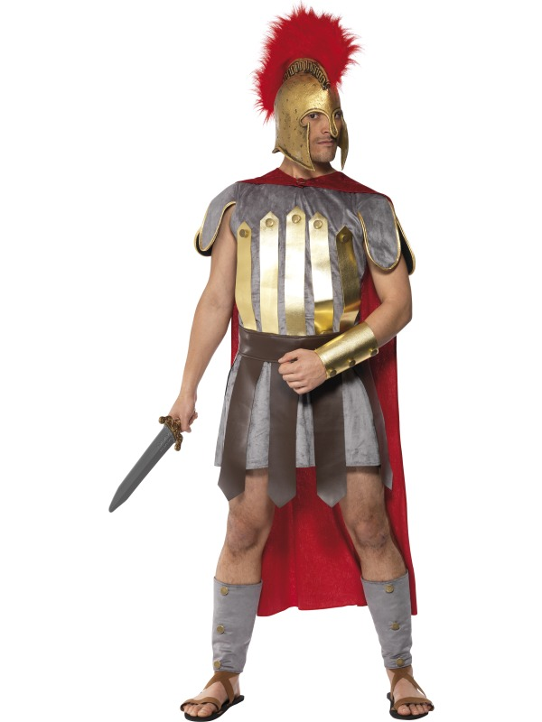 Roman Warrior Costume ef-20374L (smiffys)