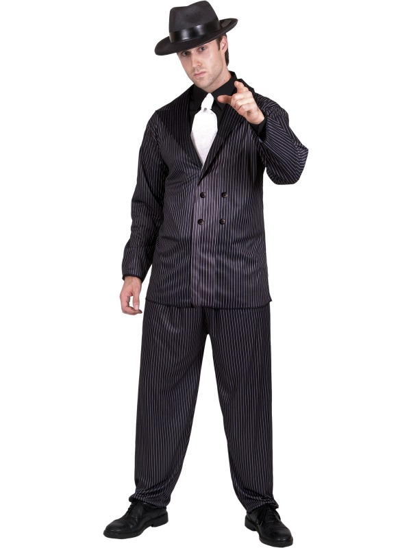 Gangster Costume adult ef-23687M (smiffys)