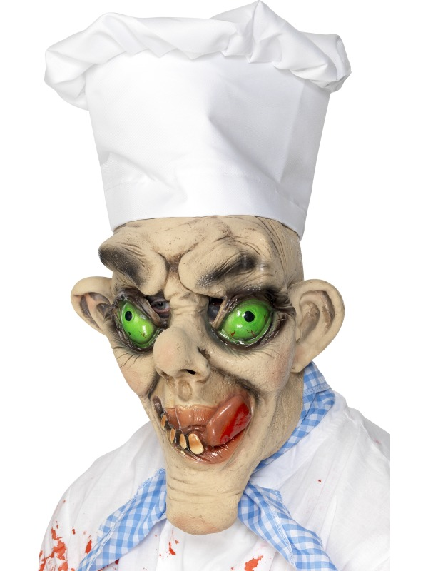 Creepy Chef Mask ef-24044 (smiffys)