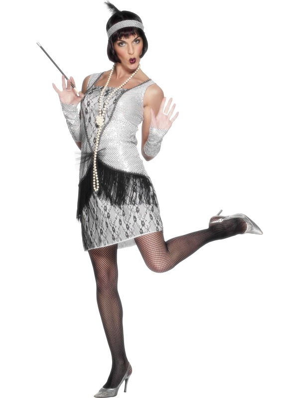 Flapper Costumes adult ef-25278M (smiffys)