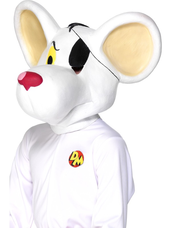 DangerMouse Full Head Mask ef-29494 (smiffys)