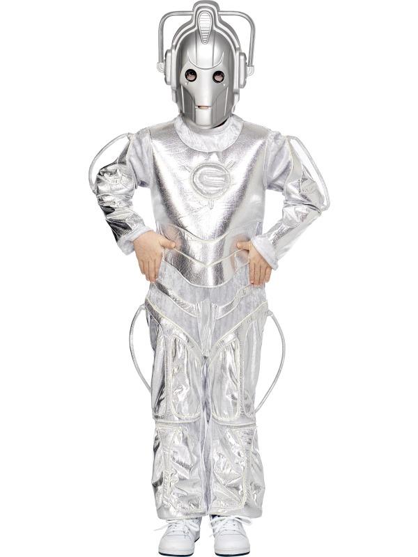 Fancy dress factory ef 30418m cyberman costume ef 30418m