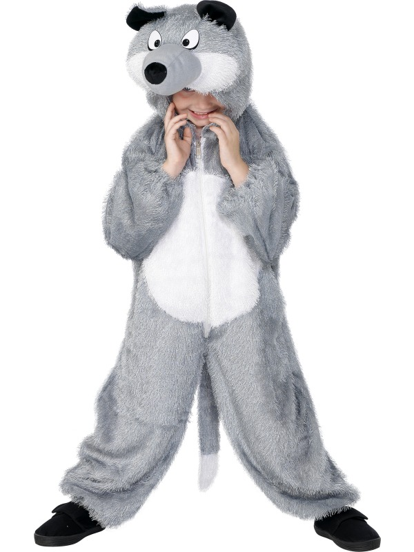 Wolf Costume, age 5 - 8 ef-30788 (smiffys)