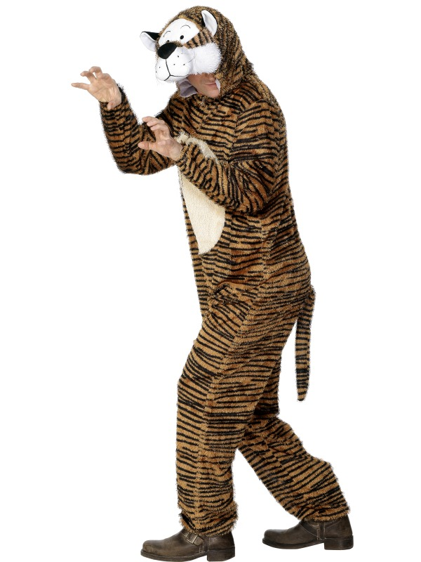 Tiger Costume adult ef-31679M (smiffys)