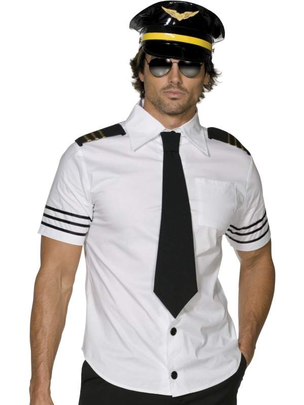 Fever Mile High Pilot Costume ef-31871M (smiffys)